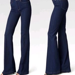 Paige 70s High Rise Brooke Flare Jeans Size 26
